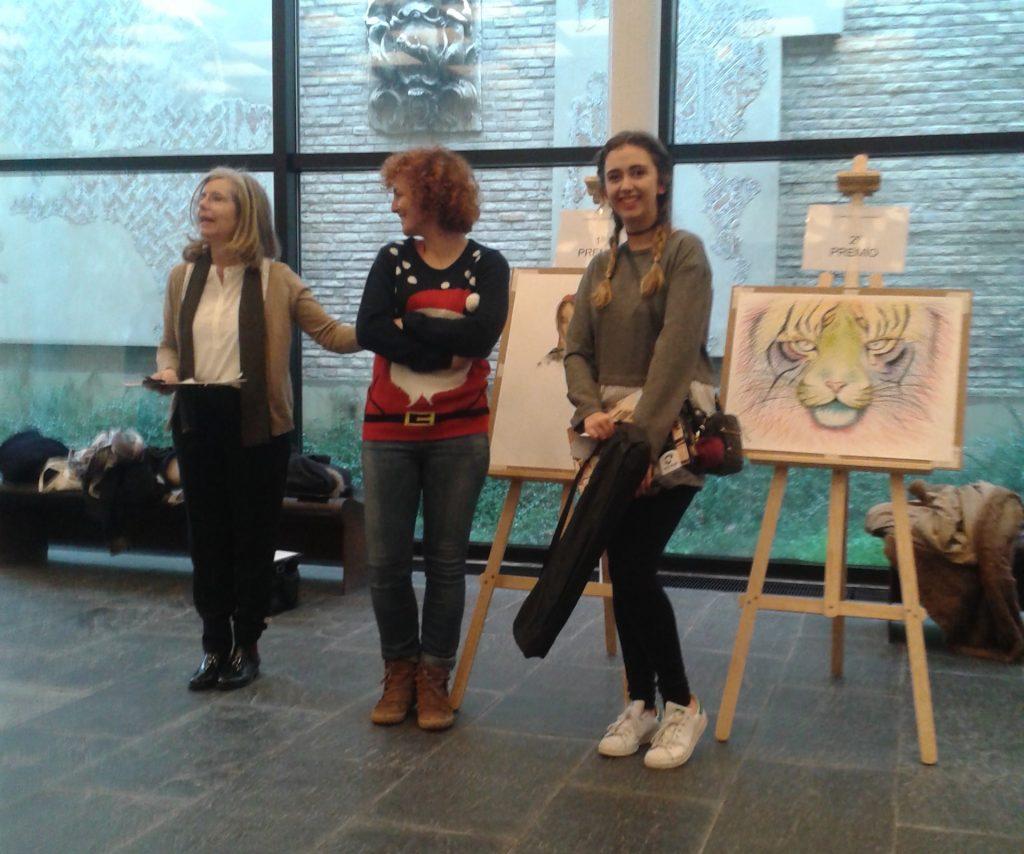Primer premio en la Olimpiada de Dibujo Creativo
