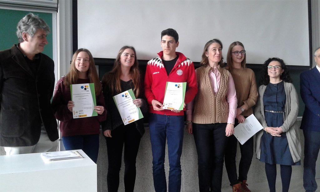 Jairo Císcar, I Premio en la Olimpiada de Geografía