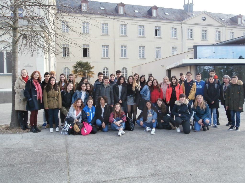 Intercambio con Angers, Francia. (NOTICIA BILINGÜE)