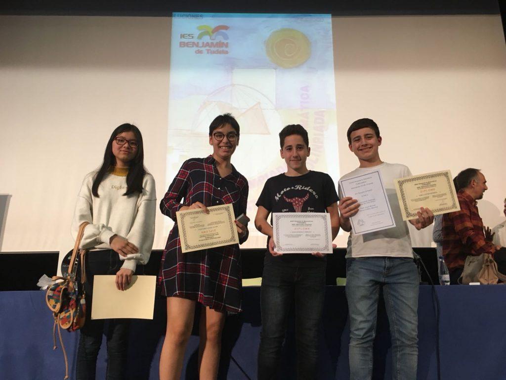 Pablo Asiain, de 2º de ESO, gana la Olimpiada de Matemáticas. ¡Enhorabuena!